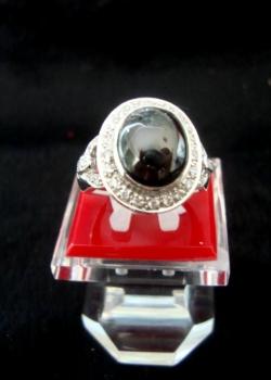 Nhẫn ngọc trai đen